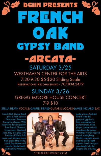 French Oak Gypsy Band